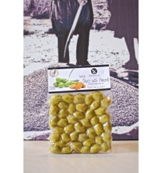 Delicious Crete 250 g  Almond-stuffed Green Olives