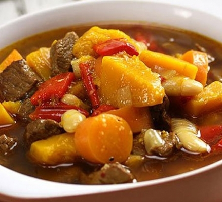 Aromatic Lamb & Pumpkin Soup